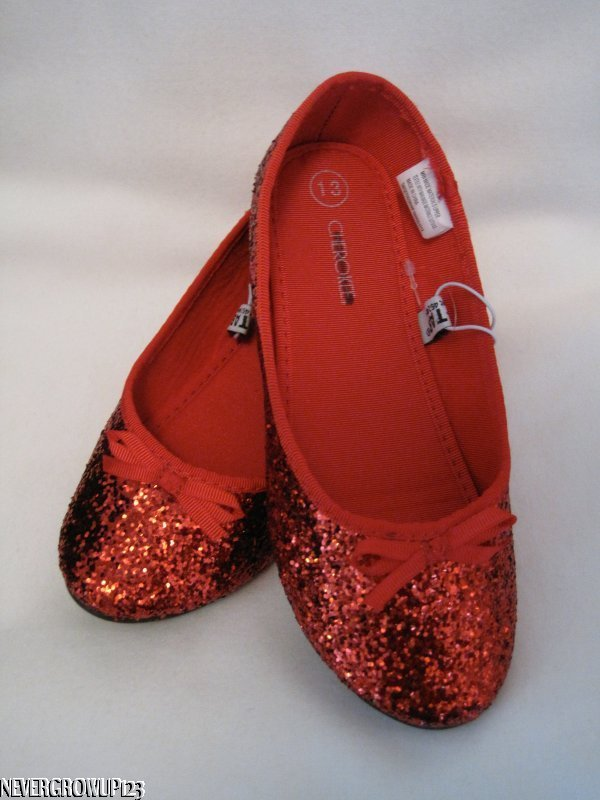 Toddler Size  Red Shoes Wizard Of Oz