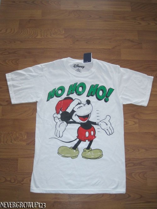 adult small mens womens disney mickey mouse christmas