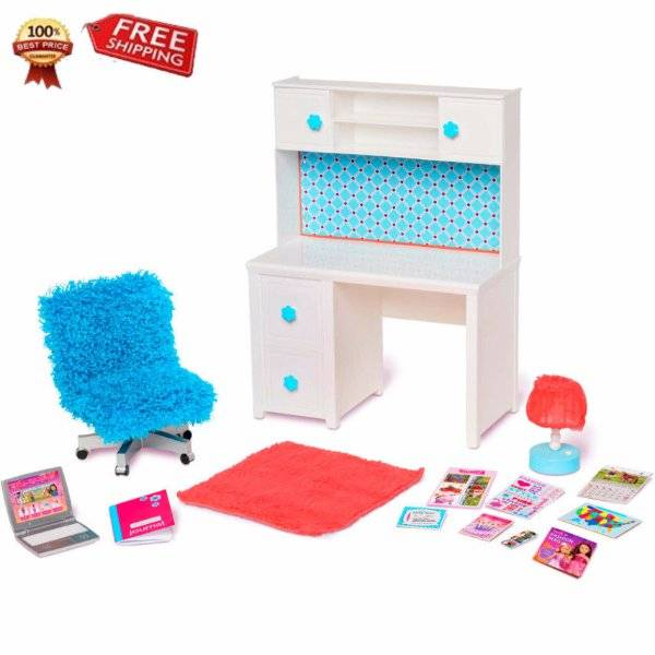 New My Life As Desk Amp Chair Doll Furniture Fits 18