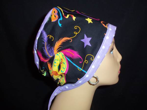 Mardi Gras Party Pixie Hat w/ Dots