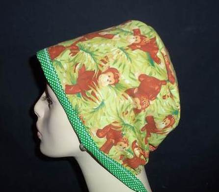 Monkey Business & Dots Pixie Style Hat