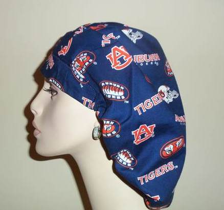 Auburn University Blue Bouffant