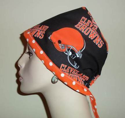 Cleveland Browns Tie Back & Dots