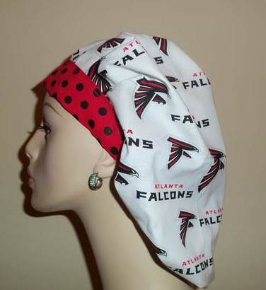Atlanta Falcons & Dots Bouffant