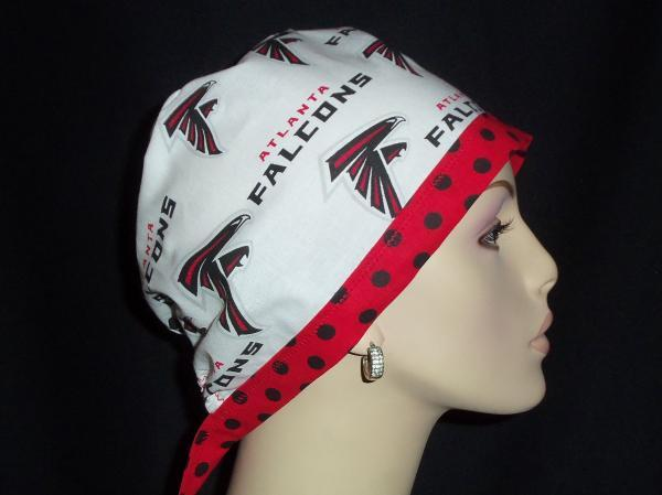 Atlanta Falcons Tie Back & Dots