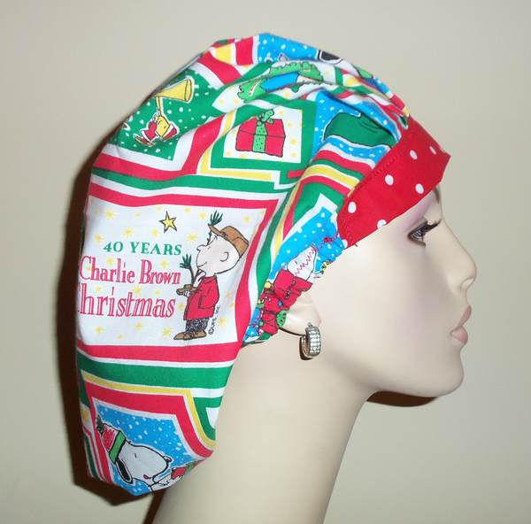 40 Years With Peanuts Christmas OOAK Bouffant