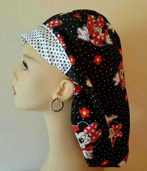 Minnie Mouse & Dots Bouffant