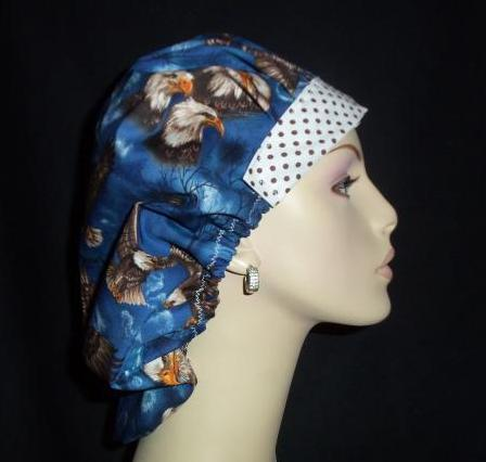 Majestic Eagles & Dots OOAK Bouffant