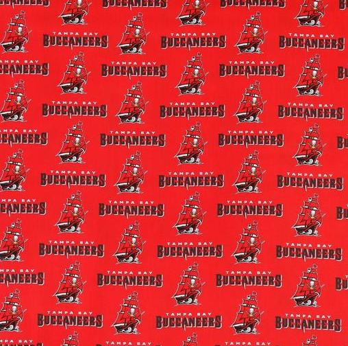 Tampa Bay Buccaneers New Fabric
