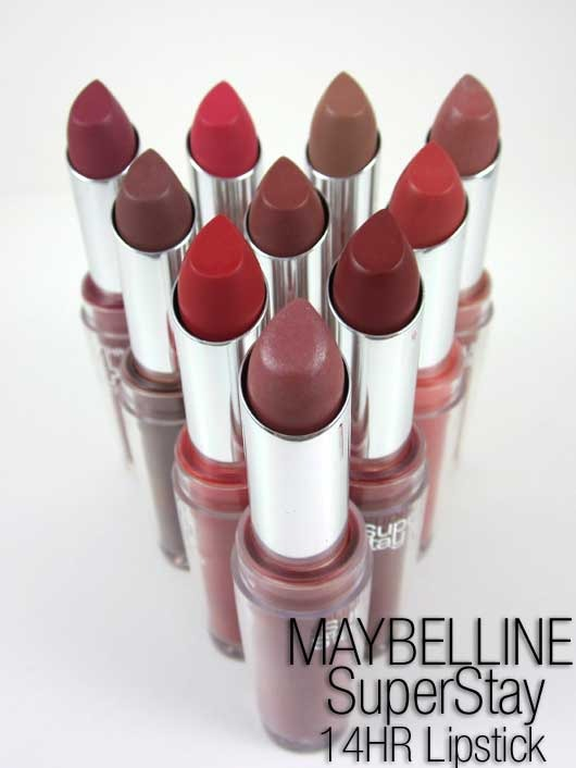 MAYBELLINE SUPER STAY SUPERSTAY 14 HR HOUR LIPSTICK NEW & SEALED ...
